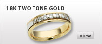 18k Two Tone Gold