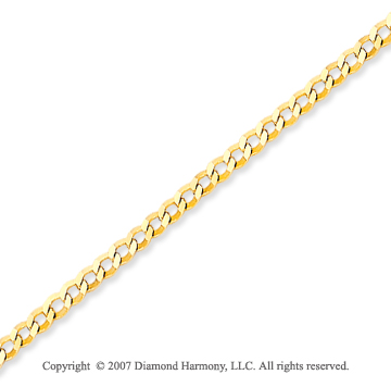 14k Yellow Gold Classic Fashionable Ankle Bracelet