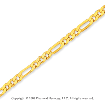 14k Yellow Gold Classic Sleek 10 inches Ankle Bracelet