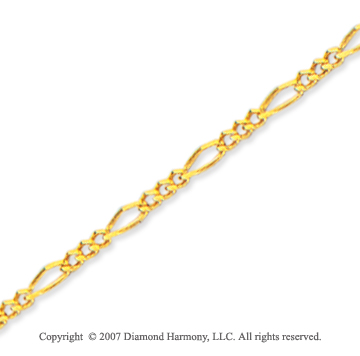 14k Yellow Goldold Stylish Fashion 10 inches Ankle Bracelet