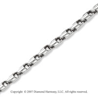 Stylish Links 7.00mm Men's Stainless Steel Bracelet
