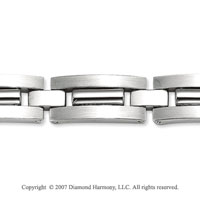Classy Regular 9.00mm Men's Stainless Steel Bracelet