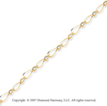 14k Yellow Gold Arte Contempo Diamond Cut Bracelet