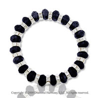 Fashionable Faceted Crystal Bracelet- CHOOSE YOUR COLOR