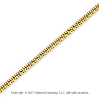 14k Yellow Gold Elegant Style Medium 1.70mm Snake Chain