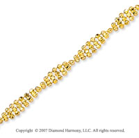 14k Yellow Gold Classic Style Wide 2.90mm Bead Chain