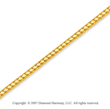 14k Yellow Goldold Elegant Style Medium 1.40mm Franco Chain