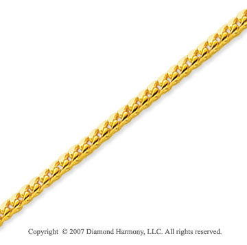 14k Yellow Goldold Elegant Style Medium 1.80mm Franco Chain
