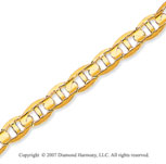 14k Yellow Gold Elegance Medium 4.50mm Mariner Link