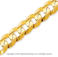 14k Yellow Goldold Classic Extra Wide 8.60mm Concave Curb Chain
