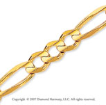 14k Yellow Goldold Elegant Medium 6.00mm Classic Figaro Chain