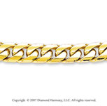 14k Yellow Gold Modern Style 5.50mm Men's Cuban Chain