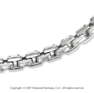 Suave Modern Style 1/4 Inch Men's Stainless Steel Chain