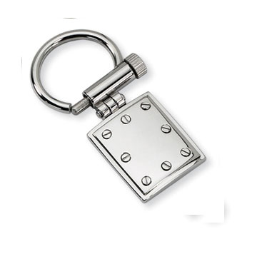 Polished Stainless Steel Key Ring