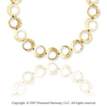 14k Yellow Gold Stylish 17 Inch Fashionable Necklace