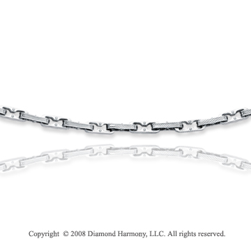 Stainless Steel Trendy Carved Men's Chain