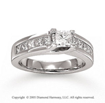 14k White Gold 1.40 CaratW Diamond Ring