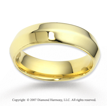14k Yellow Gold Pure Love Great Carved Wedding Band