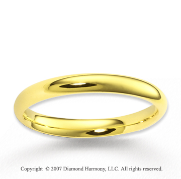 14k Yellow Gold Perfe Carat Love Fine Stylish Wedding Band