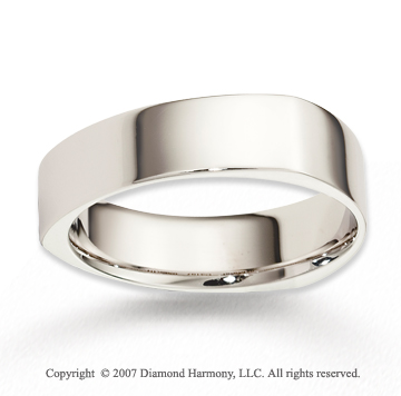 14k White Gold Forever Harmony Finest Wedding Band