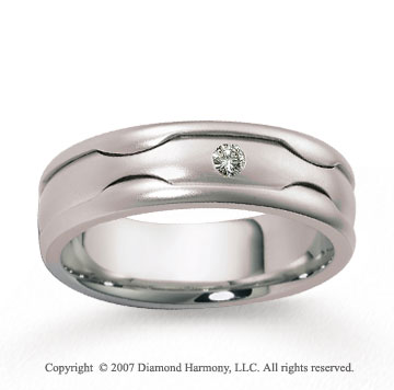 14k White Gold 7mm FCF Diamond Anniversary Band