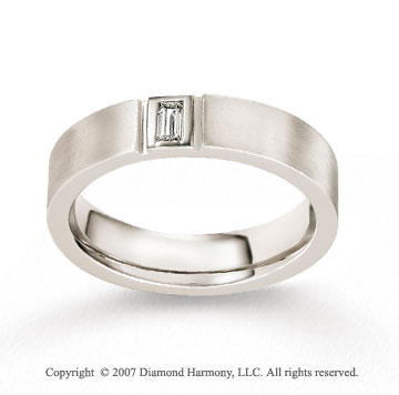 14k White Gold 5.5mm FCF Diamond Anniversary Band