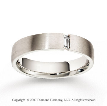 14k White Gold 5mm FCF Diamond Anniversary Band