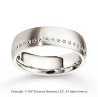 18k White Gold 6mm FCF Diamond Anniversary Band