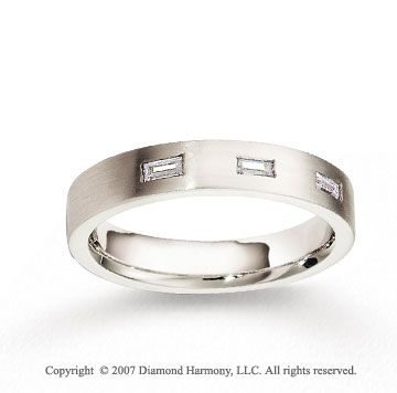 18k White Gold 4mm FCF Diamond Anniversary Band