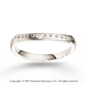 18k White Gold Fashion 2.5mm CF Diamond Anniversary Band