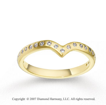 18k Yellow Gold Fashion 2.5mm CF Diamond Anniversary Band