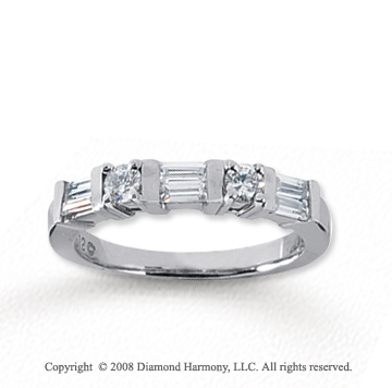 stone ring product carat anniversary band diamond cut round bands
