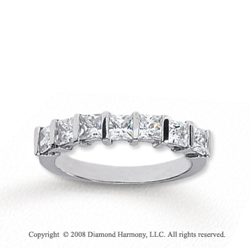 princess band kay tw jewelers anniversary bands white cut ring fashion diamond gold wedding