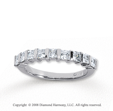 build cut princess own ct your setmain set band platinum engagement tw in channel anniversary ring diamond bands