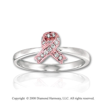 or by itwaslikemagic breast survivor round ring rings cancer pin rose cultured memorial pink