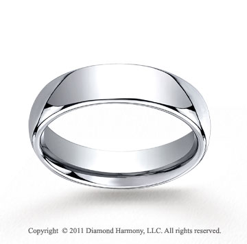 Cobaltchrome� 6mm Comfort-Fit High Polished Wedding Band