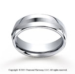 Cobaltchrome� 7.5mm Comfort-Fit Satin-Finished Wedding Band