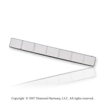 Fashionable Dashing Durable Stainless Steel Tie Bar